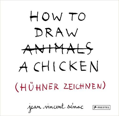 HOW TO DRAW A CHICKEN (HÜHNER ZEICHNEN)