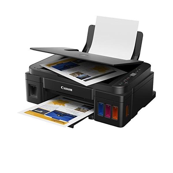 Canon Pixma G2010 All in One Inkjet Printer 33 x 44.5 x 16.3 cm Color-Black