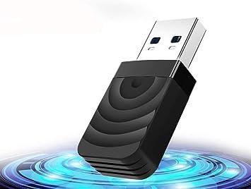 TouchSKY WiFi USB 3.0 Antena Adaptador 1300Mbps Mini WiFi USB Dongle Dual Band 2.4G/5.8GHz Receptor para PC Desktop Laptop Tablet, Windows ...