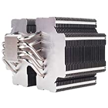 Silverstone Tek Heligon CPU Cooler for Intel Socket LGA775/LGA1155/LGA1156/LGA1366/LGA2011 and AMD Socket AM2/AM3/FM1/FM2, HE02 (Silver)