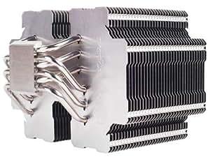 Silverstone Tek Heligon CPU Cooler for Intel Socket LGA775/LGA1155/LGA1156/LGA1366/LGA2011 and AMD Socket AM2/AM3/FM1/FM2, HE02 (Silver)