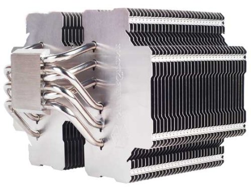 Silverstone Tek Heligon CPU Cooler for Intel Socket LGA775/LGA1155/LGA1156/LGA1366/LGA2011 and AMD Socket AM2/AM3/FM1/FM2, HE02 (Silver) (Best Passive Cpu Cooler)