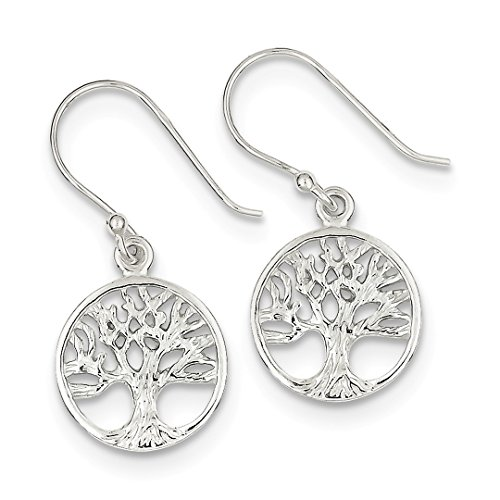 ICE CARATS 925 Sterling Silver Filigree Tree Drop Dangle Chandelier Earrings Fine Jewelry Ideal Gifts For Women Gift Set From ()