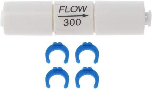 Rtengtunn Filtro de Agua Restrictor de Flujo de /ósmosis inversa Insertar Tubo capilar para Sistema RO 300cc