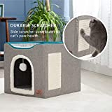 Bedsure Cat Bed for Indoor Cats -Large Cat Cave for