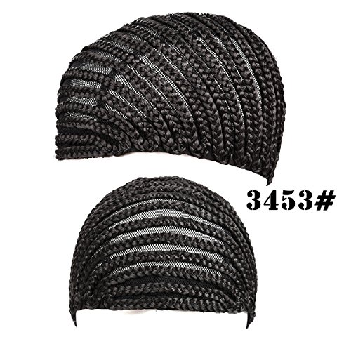 [Silike Crochet Braided Wig Caps in Cornrow Sew Hair For Making Wigs (3453)] (Cornrow Wigs)