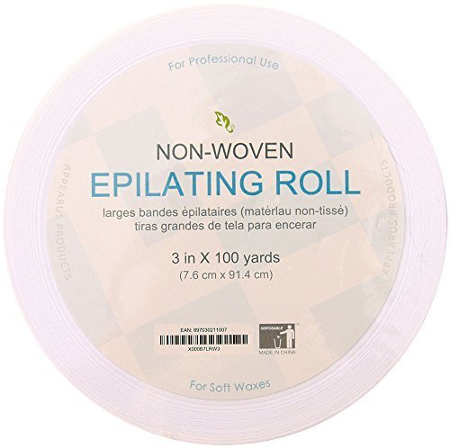 "JMT Beauty Non-woven Waxing Roll Strips 3"" x 100 Yard by JMT Group"