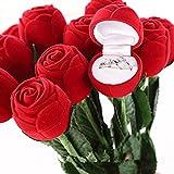 amazoncom rose ring holder long stem home amp kitchen