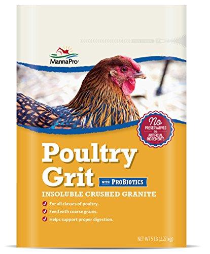 Manna Pro 1000212 Poultry Grit with Probiotics, 5 lb, Adult