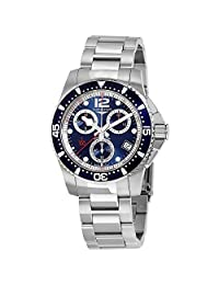 Longines HydroConquest Chronograph Black Dial Mens Watch L37434566 by Longines