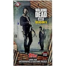 2016 Topps Walking Dead Season 5 Hobby Collector's Cards - 24 packs of 6 cards each!