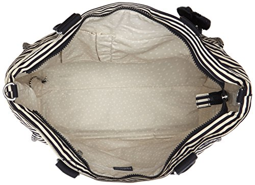 Stripy Multicolour L body Marine Bag New Kipling Shopper Cross Female qwSOC