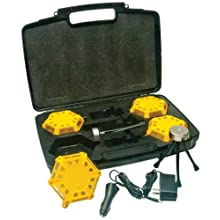Aervoe 4-Pack Kit Super LED Road Flare (Yellow)