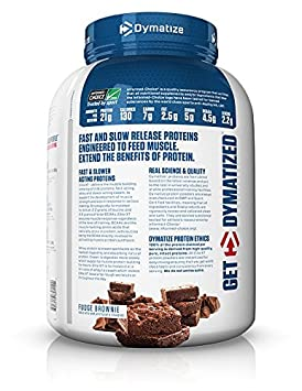 Dymatize Elite XT Protein Powder Blend, Fudge Brownie, 4 lbs