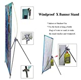 outdoor banner stand - TheDisplayDeal Outdoor use X Stand for Grommeted Banners (31
