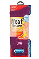 Heat Holders - Women's Original Ultimate Thermal Socks, One size 5-9 us (Deep Fuchsia)