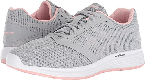 ASICS Women's Patriot Mid Grey/Frosted Rose 6.5 B US