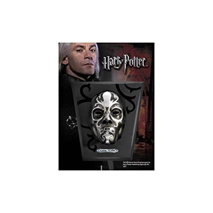 HARRY POTTER Lucius Malfoy Death Eater Mask 1:1 Replica Noble Collection