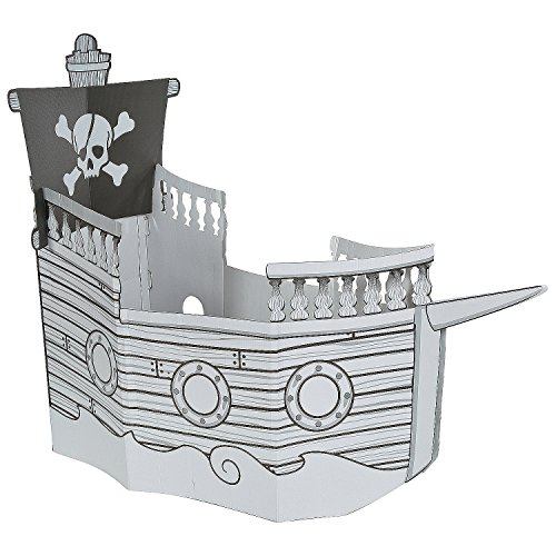 (Color Your Own Pirate Ship)