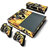 FriendlyTomato Xbox One Console and Controller Skin Set – Kombat Duel – PlayStation 4 Vinyl Mortal Fight For Sale
