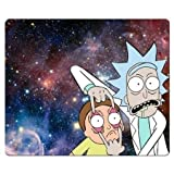 Rick and Morty Mouse pads-Non-Slip Rubber Gaming Mouse Pad 25*20