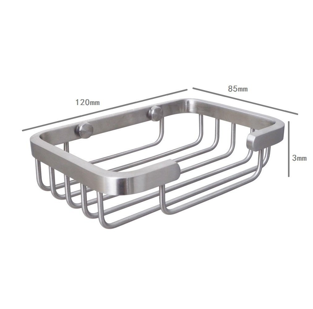 Amazoncom Lonker Strong Stainless Steel Soap Dish Holder Wall