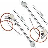 AutoLoc 10271 2-Door U-Wire Driver/Passenger Flat Power Window Kit