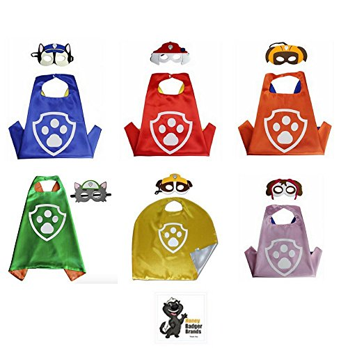 Honey Badger Brands Dress up Comic Cartoon Superhero Costume