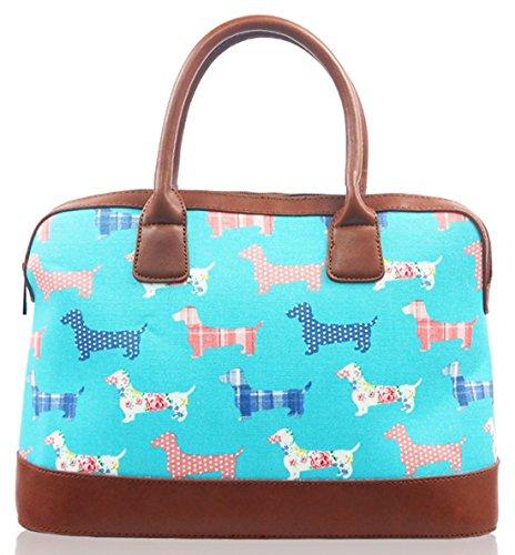 light blue bowling bag - 3