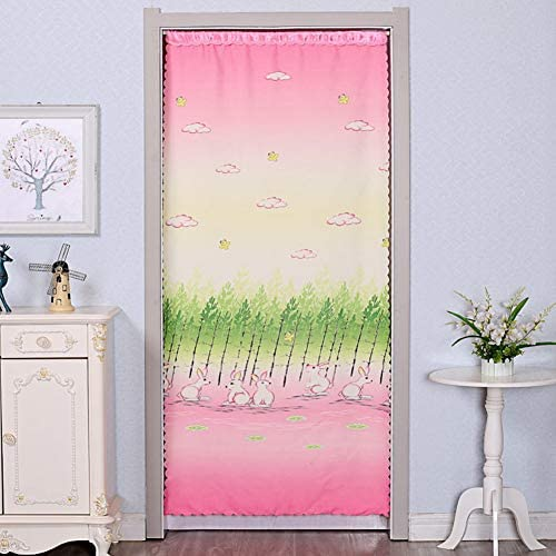 布 仕切り幕, 反冷却 な 装飾的です ホーム ベッド ミュート 風 ハーフカーテン 無料パンチ 防蚊-l W:80cmxh:180cm