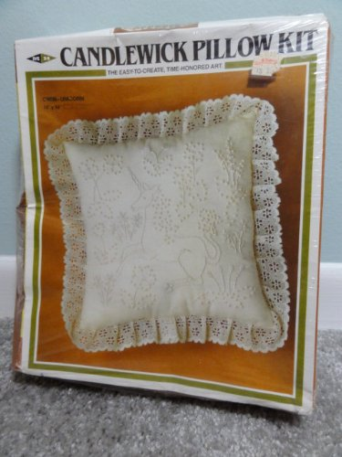 - Unicorn Candlewick Pillow Craft Kit
