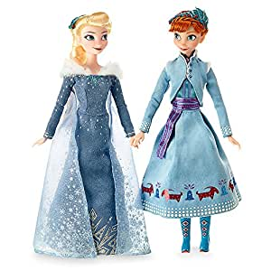 Disney Anna and Elsa Classic Doll Set - Olaf's Frozen Adventure - 11 1/2 Inch