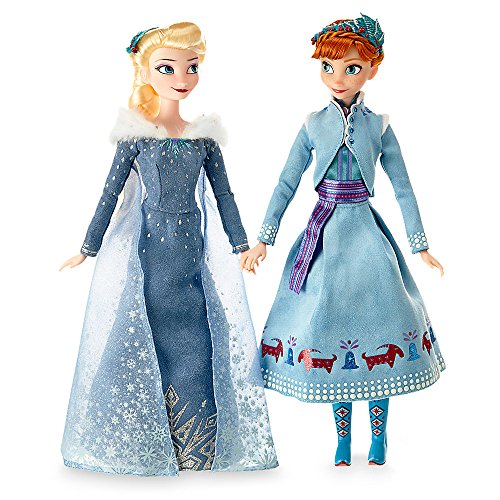 Anna Baby Costume Frozen (Disney Anna and Elsa Classic Doll Set - Olaf's Frozen Adventure - 11 1/2 Inch)