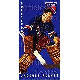 Jacques Plante Hockey Card 1994 Parkhurst Tall Boys 64-65 #100 Jacques Plante