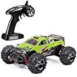 TOZO C1142 RC Car Sommon Swift High Speed 30Mph 4x4 Fast Race Cars1: 24 Rc Scale RTR Racing 4WD Electric Power Buggy W/2.4G Radio Remote Control Off Road Cross Country Vehicle Powersport Green