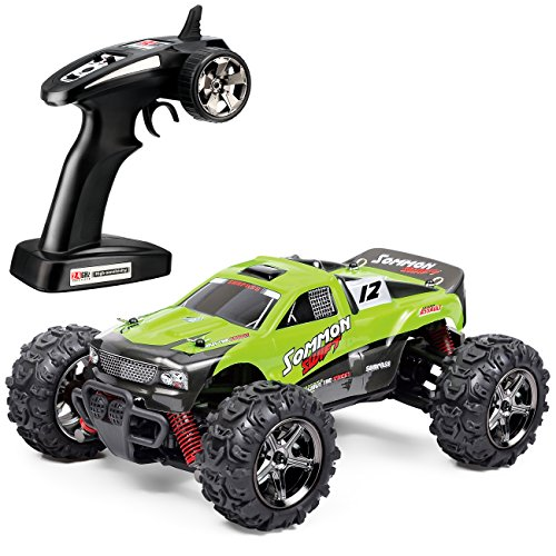 TOZO C1142 RC CAR SOMMON SWIFT High Speed 30MPH 4x4 Fast Race Cars1:24 RC SCALE RTR Racing 4WD ELECTRIC POWER BUGGY W/2.4G Radio Remote control Off Road cross country vehicle Powersport green - Cross Country Vehicle