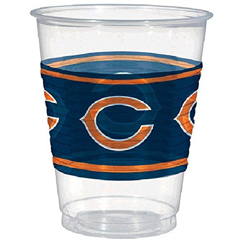 Amscan Chicago Bears Plastic Cup, 16 oz.