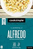 Totally creamy and melt-in-your-mouth good. Packed with nutritious benefits, protein, and veggies. Win-win is within reach with Alfredo by Cooksimple! All natural, gluten free pasta made with Chickpeas is sauced with Parmesan Cheese and Garli...