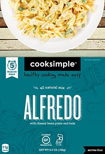 cooksimple-all-natural-mix-alfredo-with-cheesy-bean-pasta-and-kale-6-pack