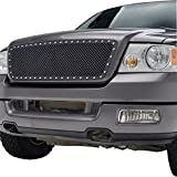 E-Autogrille 04-08 Ford F-150 Stainless Steel Mesh Front Upper Grille Insert