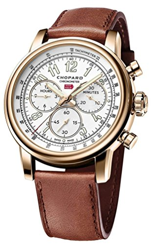 Chopard Rose Gold Chronograph Flyback Mille MIGLIA Classic XL 90TH Anniversary 161299-5001