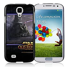 Durable Case Design with Star Wars The Old Republic Airships Shooting Houses Black Case for Samsung Galaxy S4 I9500