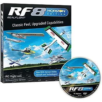 Amazon com: Great Planes RealFlight RF-8 RC Radio Control Flight