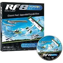 RealFlight RF8 Horizon Hobby Edition: RC Flight Simulator Software DVD Only