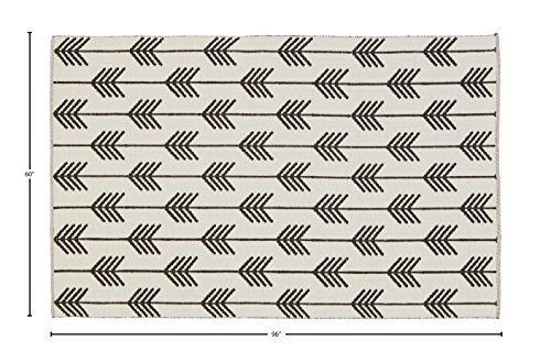Rivet Arrow Wool Area Rug -  - living-room-soft-furnishings, living-room, area-rugs - 51hr9jzenpL -