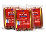 Vienna Beef FireDog Spicy Jumbo Franks 6'' 6:1 2 lbs. each (3 Pack)