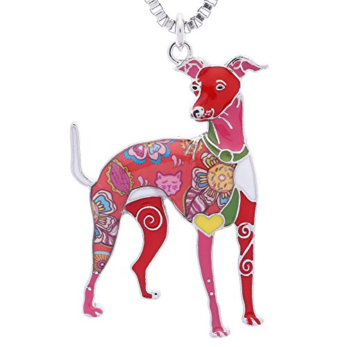 - Luckeyui Whippet Jewelry Gifts for Women Unique Animal Collection Dog Lover Birthday Necklace