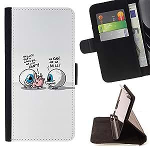 KingStore / Leather Etui en cuir / Apple Iphone 5C / Abstract Eyes