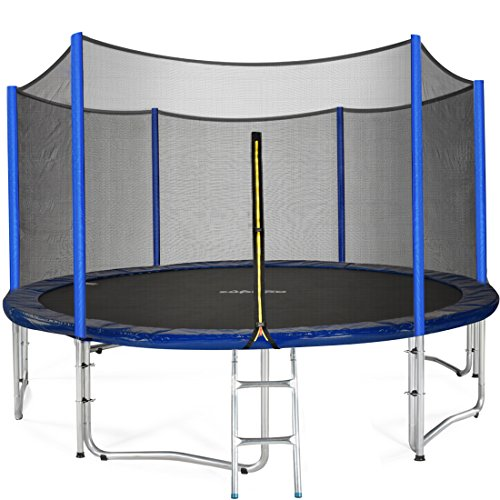 Kidwise Jumpfree 15 Ft Trampoline And Safety Enclosure: Zupapa 15 14 12 Ft TUV Approved Trampoline With Enclosure