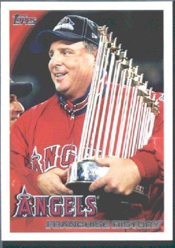 - 2010 Topps Baseball Card # 356 Los Angeles Angels Franchise History - Angels (World Series Championship) MLB Trading Card
